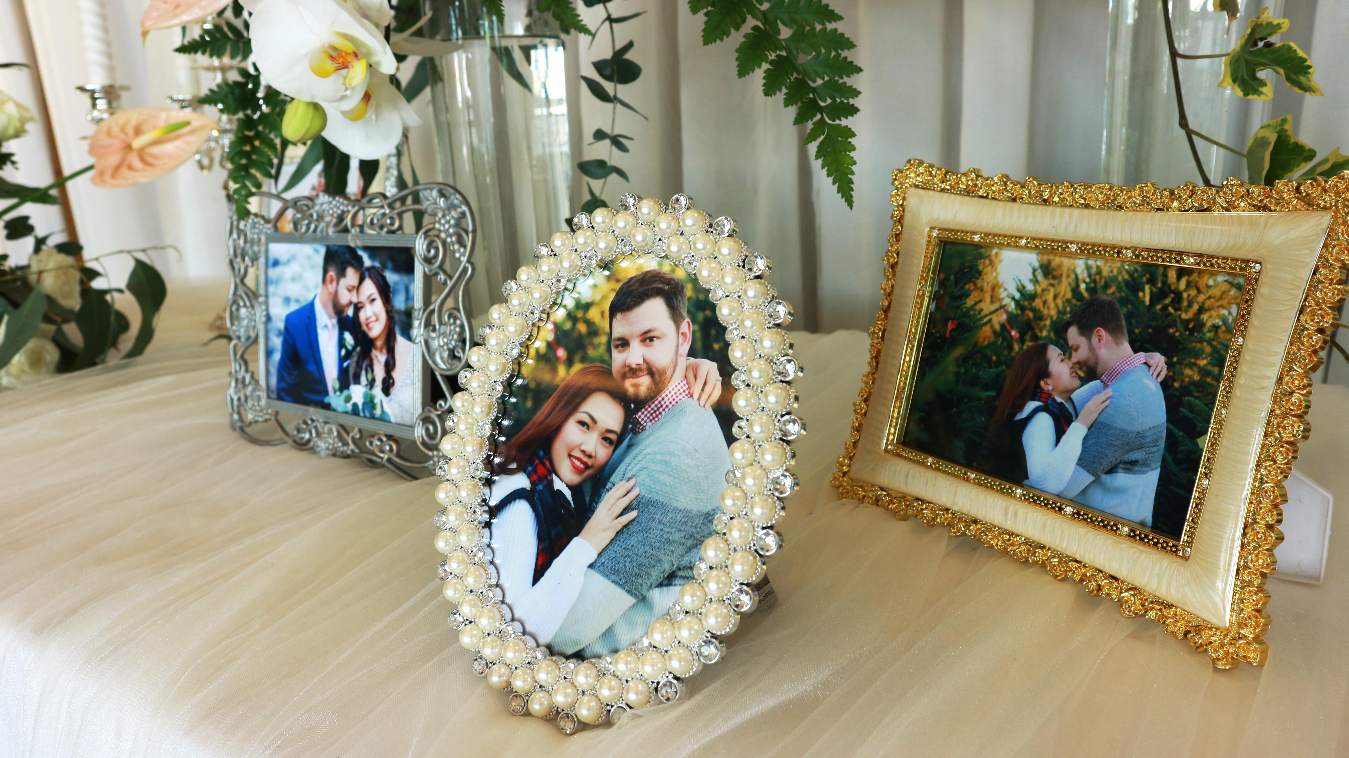 Chụp hình, quay phim và làm phóng sự cưới