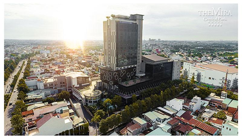 Trung tâm hội nghị tiệc cưới the mira central park đạt chất lượng 5 sao đầu tiên và duy nhất tại Biên Hòa Đồng Nai